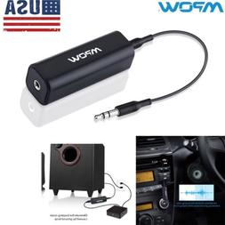 Mpow Ground Loop Noise Isolator Eliminate For Home Car Aux A