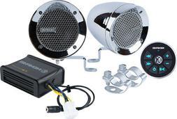 Memphis Audio MXABMC2BT Two Handlebar Speakers w/ Bluetooth