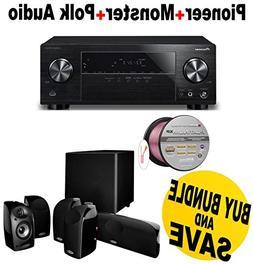 Pioneer 5.1 Channel Network AV Receiver Audio & Video Compon