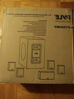 New Pyle 5.1 Channel Home Theater System Active Subwoofer Su