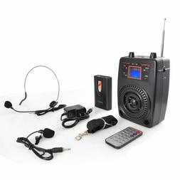 NEW Pyle PWMA83UFM PA System Mic & Player  Radio  Includes L