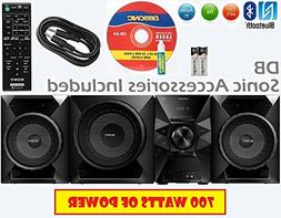 Sony 700 Watt NFC Bluetooth Sound System w/ MP3 CD Player, F