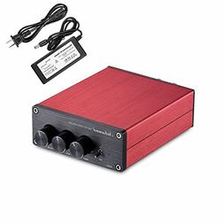 Nobsound Hi-Fi 200-Watt Digital Power Amplifier Stereo Audio