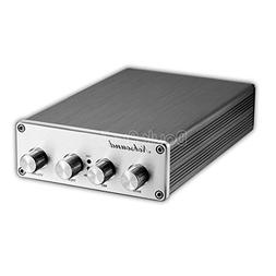 Nobsound Hi-Fi Stereo Digital Preamplifier Audio Pre-Amp wit