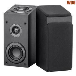 Pair 60W Satellite Speaker Immersive Audio Home Theater Surr