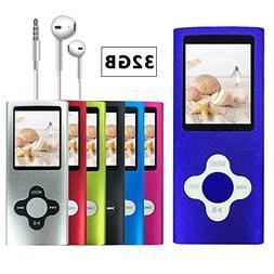 VOLGER DIGITAL 32 GB Portable Ultra-thin MP3 MP4 Player LCD
