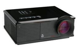 Pyle PRJ3D99TU 60-Inch to 120-Inch 4:3/16:9 HD 5-Inch LCD Pr