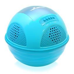 Pyle PWR90DBL Aqua Blast Waterproof Bluetooth Floating Pool