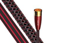 AudioQuest Red River XLR Analog-Audio Interconnect Cable wit
