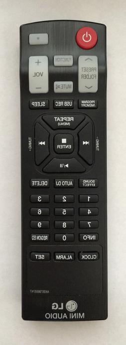 GHYREX Remote AKB73655747 For LG Home Audio Mini Hi-Fi Syste