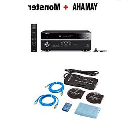 Yamaha RX-V685BL 7.2-Channel 4K Ultra HD AV Receiver with Wi