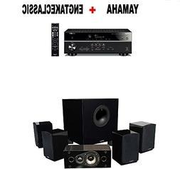 Yamaha RX-V485BL 5.1-Channel 4K Ultra HD AV Receiver + Energ