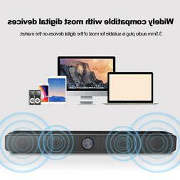 SADA V-193 TV Home Soundbar Speaker System Subwoofer 3D Surr