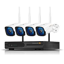 Security Camera System Wireless, Jennov HD 1080P 4 Channel B