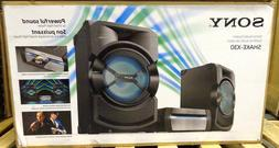 Sony SHAKE-X30 High-Power Home Audio System with Bluetooth S