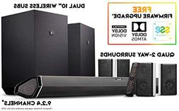 Nakamichi Shockwafe Ultra 9.2Ch DTS:X 1000W 45-Inch Sound Ba