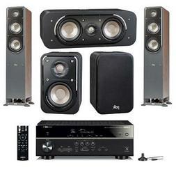 Polk Audio Signature Series 5 Speaker Home Theater System wi