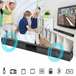 Surround Sound Bar Speaker System Wireless Bluetooth Subwoof