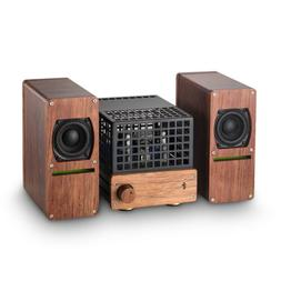 "Douk Audio Sweet Mini 6N6 Tube Amplifier with 2"" Speakers Hi"