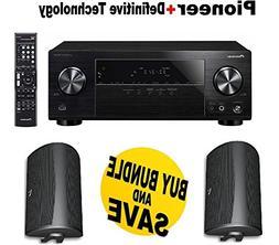 Pioneer VSX-531 5.1 Channel Network AV Receiver Audio & Vide