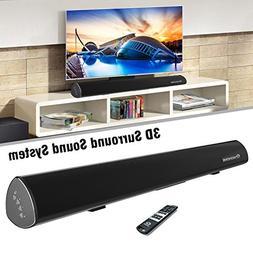 Wohome S9920 Soundbar, TV Sound Bar Wireless Bluetooth and W