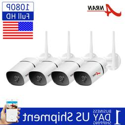 ANRAN Wireless Home WiFi Security Camera System 2way Audio T