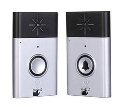 Wireless Intercom Doorbell and Wireless Chime Voice Doorbell