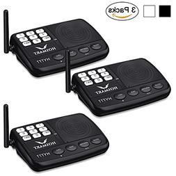 Wireless Intercom System Hosmart 1/2 Mile Long Range 7-Chann