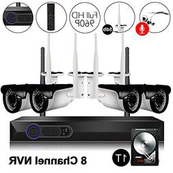 CAMVIEW Wireless Security Home Surveillance System Expandabl