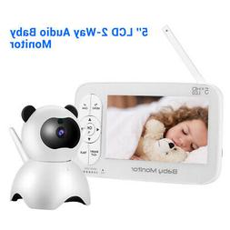 """Wireless Security WiFi IP Camera System 7"""" Monitor Screen LC"""