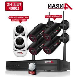 Wireless WiFi IP Security Camera 1080P Indoor Home Surveilla