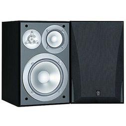Yamaha NS-6490 3-Way Bookshelf Speakers Finish  Black Single